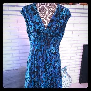 Chaps Capped sleeve Dress